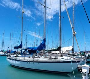 Used Bruce Roberts Cutter Sailboat For Sale