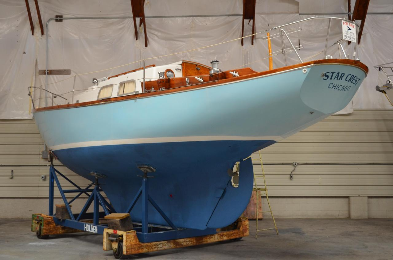 1966 Used Pearson Vanguard Cruiser Sailboat For Sale - $16,900 ...