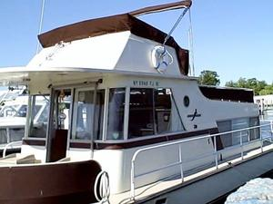 Used Kingscraft House Boat For Sale
