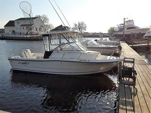 Used Sea Boss 210 Walkaround Center Console Fishing Boat For Sale