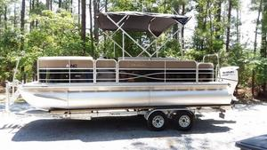 Used South Bay 222FCR Pontoon Boat For Sale