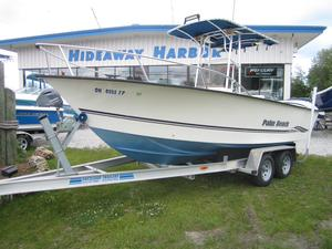 Used Palm Beach Whitecap 205 Center Console Fishing Boat For Sale