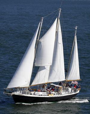 Used Dudley Dix Schooner Charter Opportunity Schooner Sailboat For Sale