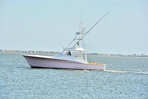 Used Custom Carolina Ritchie Howell Express Center Console Fishing Boat For Sale