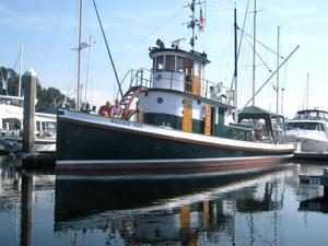 Used Tacoma Tugboat Classic Tug Antique and Classic Boat For Sale