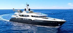 New Christensen Custom MCA Series Skylounge Motoryacht Motor Yacht For Sale