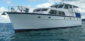Used Matthews Flush Deck Tri-cabin Motor Yacht For Sale