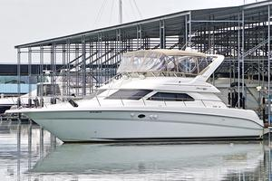 Used Sea Ray 450 Express Bridge Flybridge Boat For Sale
