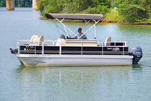 Used G3 Suncatcher V18 Fish Pontoon Boat For Sale