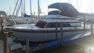 Used Marinette 28 Flybridge Cuddy Cabin Boat For Sale