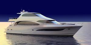 New Hampton 730 SL Flybridge Boat For Sale