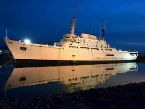 Used Aerojet-General EX Oceanographer Cruise Ship Boat For Sale