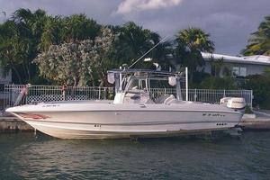 Used Wellcraft 32 CC Scarab Sport Center Console Fishing Boat For Sale