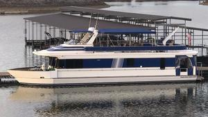 Used Monticello Houseboat 70 X 16 House Boat For Sale