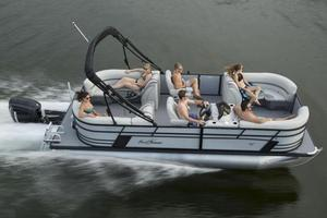 Used Sunchaser Geneva Cruise 22 LR DH Sport Pontoon Boat For Sale