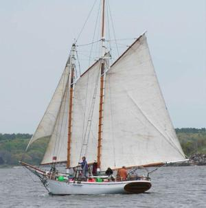 Used Murray Peterson Gaff-rigged Topsail Coasting Schooner Sailboat For Sale