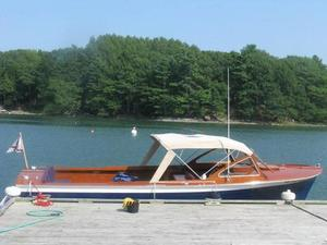 Used Lyman 25 Sleeper With Softtop Downeast Fishing Boat For Sale