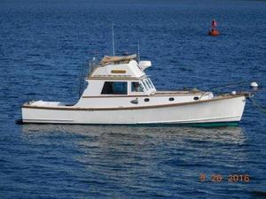 Used Jarvis Newman-Wilbur Flybridge Cruiser Downeast Fishing Boat For Sale