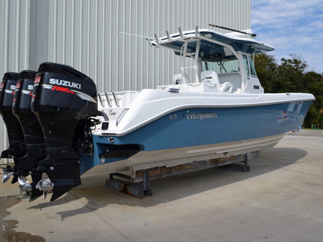 2008 used everglades center console sportfish center for Used center console fishing boats for sale