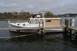 Used Duffy Extended Hardtop Cruiser Downeast Fishing Boat For Sale