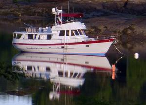Used Fantail 50 Pilothouse Trawler With Flybridge Motor Yacht For Sale