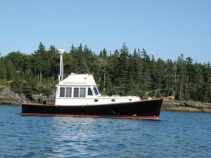 Used Stanley Williams 36 Flybridge Cruiser Downeast Fishing Boat For Sale