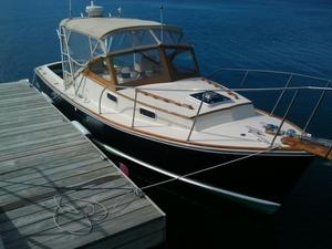 Used Dyer Trunk Cabin Softtop Downeast Fishing Boat For Sale