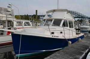 Used Nauset Flybridge Cruiser Downeast Fishing Boat For Sale