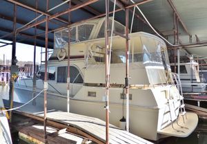Used Uniflite 42 Double Cabin Motor Yacht For Sale