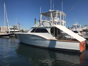 Used Custom Carolina Cape Fear 47 Sports Fishing Boat For Sale