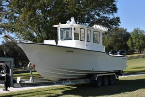Used Mirage Yachts Pilot House Center Console Fishing Boat For Sale