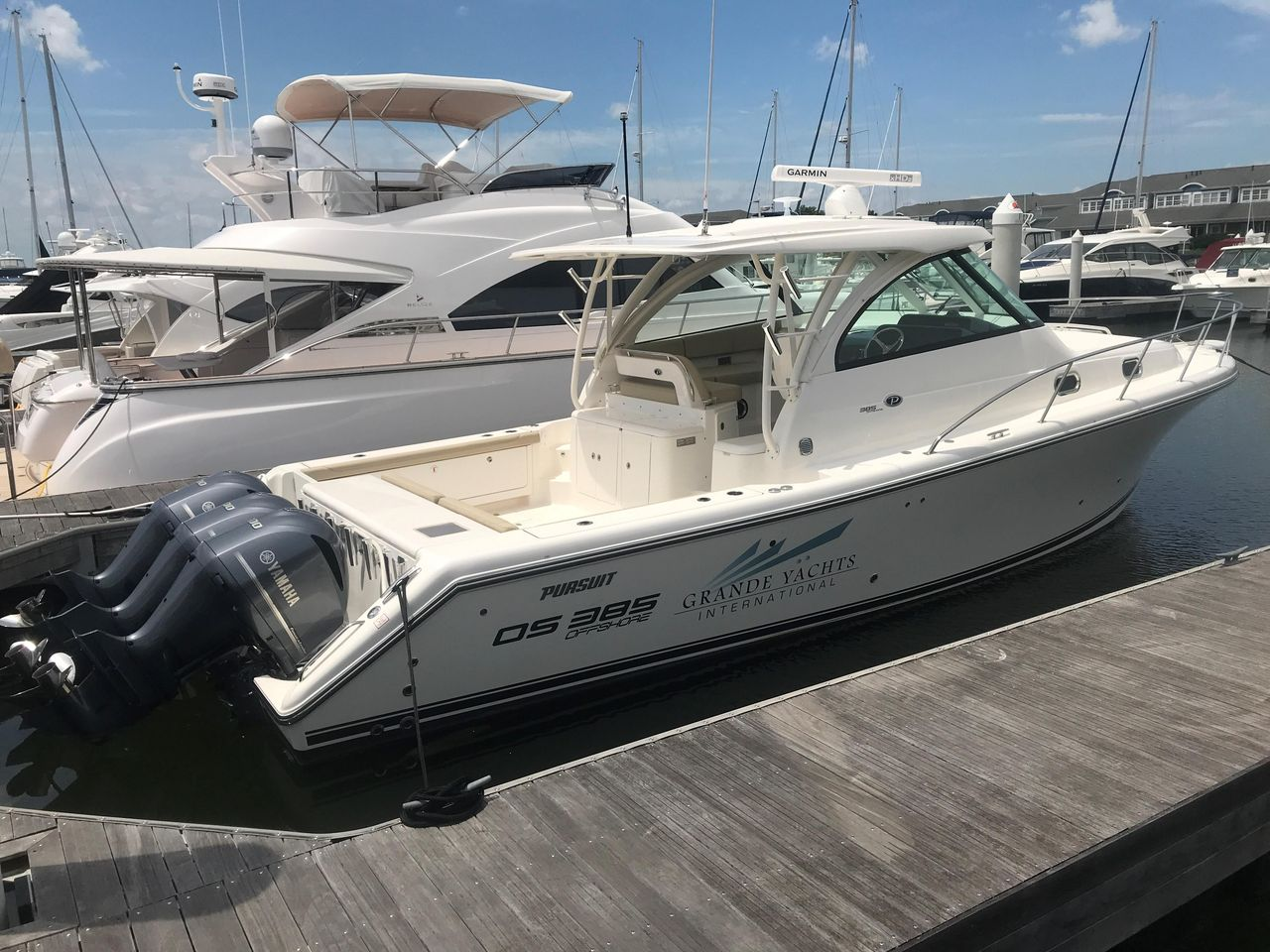 2018 New Pursuit OS 385 Off Shore Aft Cabin Boat For Sale