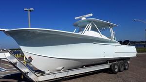 Used Custom Carolina 34 Walkaround Center Console Fishing Boat For Sale