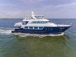 Used Mcp Yachts 98 Global Fast Trawler Motor Yacht For Sale