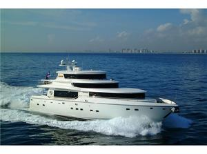 New Johnson 93' RPH W/on-deck Master Motor Yacht For Sale