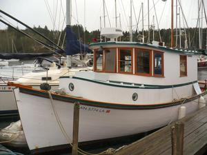 Used Columbia River Gillnetter Troller Fishing Boat For Sale
