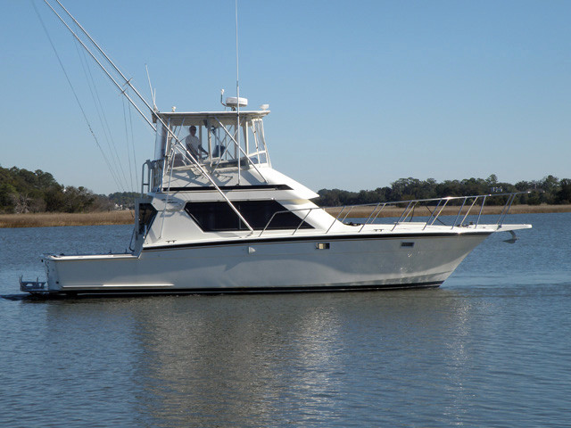1988 used hatteras convertible sportfish sports fishing for Used sport fishing boats for sale