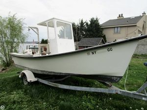 Used Allied Boat Works 20 Fisherman Center Console Fishing Boat For Sale