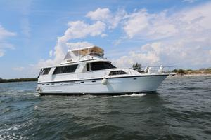 Used Jefferson 56 Marquessa Extended Deckhouse Flybridge Boat For Sale