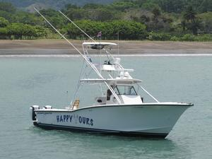 Used Ocean Master 34 Saltwater Fishing Boat For Sale