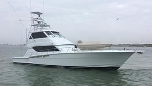 Used Hatteras 60 Enclosed Bridge Convertible Fishing Boat For Sale