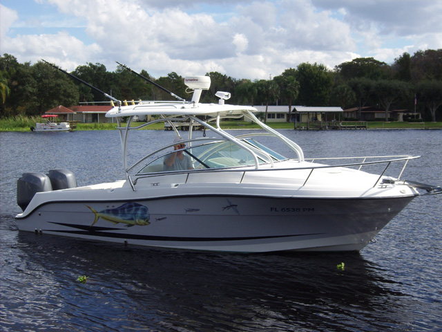 2005 used hydra sports 2500 vx sports fishing boat for for Sport fishing boats for sale