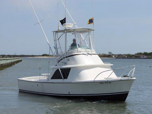 Used Bertram Flybridge Fisherman Flybridge Boat For Sale