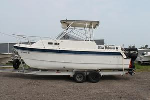 Used Glacier Bay 252 Cuddy Center Console Fishing Boat For Sale