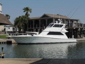 Used Viking 58 Enclosed Bridge Sports Fishing Boat For Sale