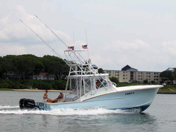Used Outerbanks Boat Works Express Cruiser Boat For Sale