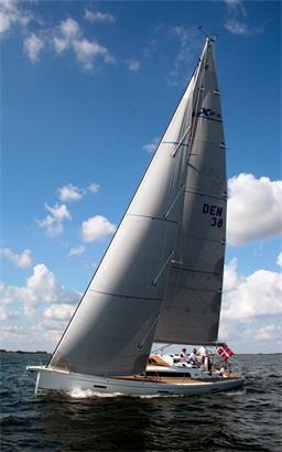 New X-Yachts XP 38 Shoal Draft Option Racer and Cruiser Sailboat For Sale