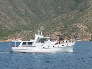 Used Roughwater Custom Long Range Trawler Motor Yacht For Sale