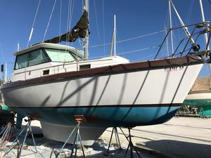 Used Watkins 27 Pilot House Pilothouse Sailboat For Sale