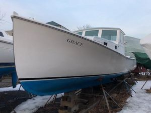 Used Holland 32 Downeast Fishing Boat For Sale